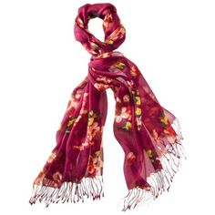 Merona® Peony Floral Fashion Scarf - Red, $12