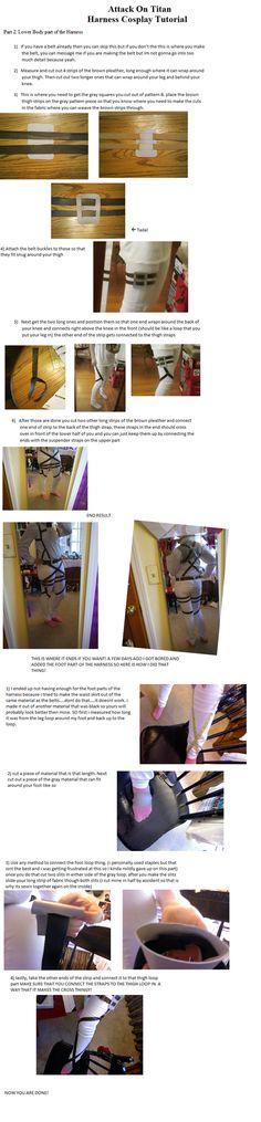 Attack on Titan Harness Tutorial Part 2 by CasuallyDisregarding