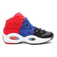 REEBOK QUESTION MID 3COLORS #sneaker