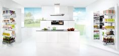 TOUCH this image: Clever Storage - Convoy Range by Cabinets Online