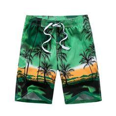 L Cbyan Mixed Beach Trunks Mens 3D Printed Beach Board Shorts with Pockets M XL XXL