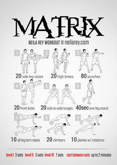 matrix machine workouts