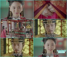 Moon Lovers Scarlet Heart Ryeo - Greedy Yeon Hwa & King Yoo - Episode 15 (Eng Sub)