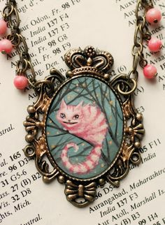 The Cheshire Cat - original cameo by Mab Graves