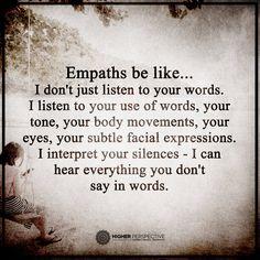 Empaths.............