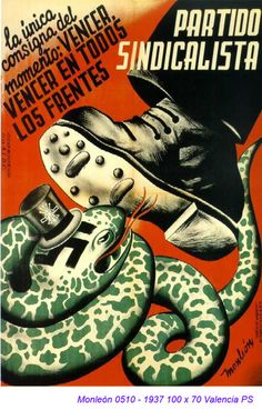 vencer, vencer en todos los frentes - Partido Sindicalista The only slogan of the moment; win, win on all fronts - Syndicalist Party Ww2 Posters, Political Posters, Ww2 Propaganda, Illustrations And Posters, Book Publishing, Civilization, Wwii, In This Moment, Poster Ideas