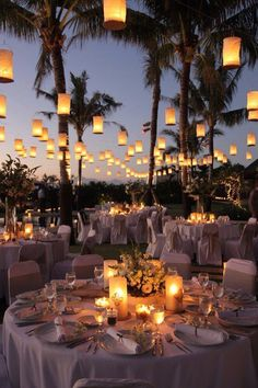 This is so awesome! I love the lanterns and the Palm trees