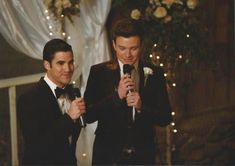 A few wedding photos I got from the Glee auction.