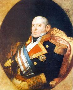 23º Capitán General de la Armada Española. Dionisio Capaz Rendón 1855