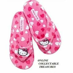 Avon Hello Kitty Slipper Medium (7-8) by Avon. $17.99. HELLO KITTY SLIPPER. Cushioned insole.. Indoor/Outdoor Sole.. Size:   M (7-8). HELLO KITTY SLIPPER  Polyester fleece thong slipper with Hello Kitty appliques.   Cushioned insole.   Indoor/Outdoor Sole.  Size:   M (7-8)
