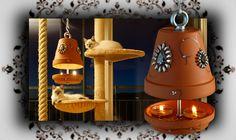 DIY  Teelicht Heizung - hängende Wärmequelle bei Stromausfall   Candle ...