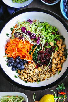 Superfood definition: A nutrient-rich food considered to be especially beneficial for health and well-being. We eat superfood every day, and beautiful combination of different food makes us feel good, makes us healthy. Superfood Salad, Superfood Recipes, Superfood Smoothies, Beet Salad Recipes, Easy Cooking, Healthy Cooking, Healthy Eating, Healthy Food, Healthy Hair