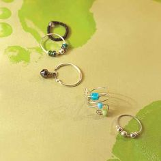 Toe Rings ~ With all these rings to choose from, fashion a toe ring to coordinate with any outfit.
