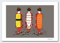 16 Ideas De Sushi Sushi Dibujo Disenos De Unas Ilustraciones