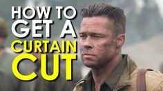 How to Get a Curtain Cut/Undercut Haircut [VIDEO]  #hair #menshair #bradpitt