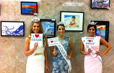 Beauty Queens at the California State Capitol Protecting Our Coast & Ocean! www.checkthecoast.org Marina Inserra, Miss California; Harleen Dahliwal, Miss San Joaquin; and Kellie Olson, Miss Sunrise Seaport.