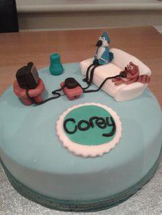 The Regular show birthday cake