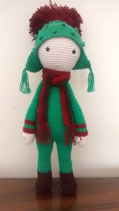 Cardo Tim flor made by Marta O - crochet pattern by Zabbez