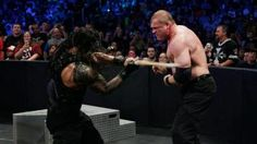 The Big Dog takes on the Corporate Demon in a knock-out, drag-out fight where there had to be a winner.