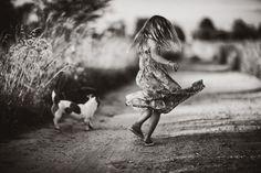 Fotógrafa polonesa documenta férias dos filhos longe dos eletrônicos | Catraquinha