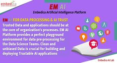 Manage huge data traffic and generate a structured data by EM AI Platform. EM AI Platform collects data from various sources and convert into a value information. Use your data as asset, apply EM AI Platform in your business now. Data Processing, Data Science, Big Data, Machine Learning, Ems, Istanbul, Platform, How To Apply, Technology
