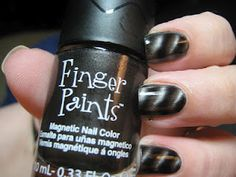 Finger Paints Magnetic Effects - Steel of the Night