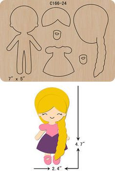 The thickness is and is compatible with most leading machines.New Princess Wooden Die Cutting Dies Scrapbooking felt Felt Doll Patterns, Felt Animal Patterns, Applique Patterns, Stuffed Animal Patterns, Quiet Book Templates, Felt Quiet Books, Felt Toys, Felt Ornaments, Felt Animals