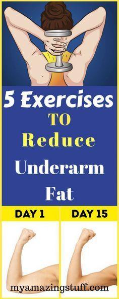5 Exercises to Reduce Underarm Fat
