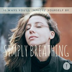 Breathing has the power to transform our entire lives. Whether we're struggling with a huge challenge or finding it hard to make a big decision, tuning into our breath during that moment can help us become aware of what's really happening.