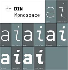 DIN Monospace