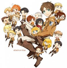 Attack on Titan chibi