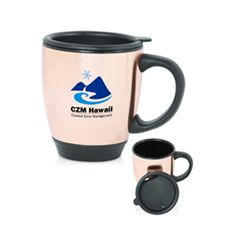Travel Mug. travel mug. Great giveaways for events, special gifts, and much more! Custom Travel Mugs, Morning Joe, Ny Usa, Porcelain Mugs, Giveaways, Special Gifts, Company Logo, Bronze, Events