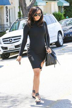 Naya Rivera is one hot pregnant mama #mommystyle #nayarivera #queen