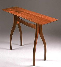 Crisfield Hall Table by Richard Laufer: Wood Hall Table available at www.artfulhome.com