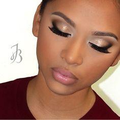 Love this makeup @ishnaeandco _ Model @kay_stivers
