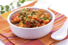 Robin's Vegan Chickpea Stew: Warm your belly and satisfy your taste buds with this hearty and delicious dish.