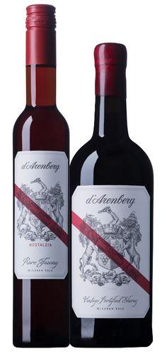 D'Arenberg Wine Label Illustrated by Steven Noble on Behance