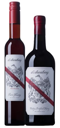 D'Arenberg Wine Label Illustrated by Steven Noble on Behance
