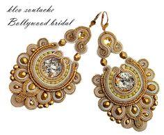 Fabric Jewelry, Boho Jewelry, Bridal Jewelry, Jewelry Crafts, Jewelery, Handmade Jewelry, Women Jewelry, Handmade Necklaces, Silver Jewelry
