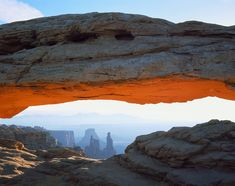 Canyonlands National Park -- Mesa Arch - National Park Service Photo