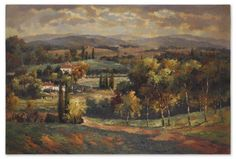 Scenic Vista 32165 by Uttermost  Vista Mirror 32165This scenic artwork is a hand painted oil that has been done on crackled canvas. The canvas has been stretched and mounted on a hardback. Sides are painted black. Due to the handcrafted nature of this artwork each piece may have subtle differences.SKU: 32165UPC: 792977321652Collection: Scenic VistaMinimum Order Quantity: 1Material: Mdf+ PlywoodOverall Depth: 1.25Overall Width: 60Overall Height: 40Weight: 40Box Size: 71 L x 44 W x 4