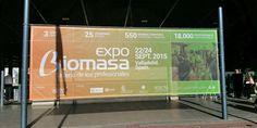 La feria Expobiomasa 2015 cumple 10 años y se inaugura en Valladolid #Expobiomasa #biomasa