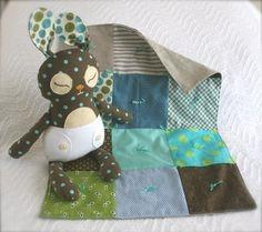 Baby Binky Bunny PDF printable pattern by mmmcrafts on Etsy