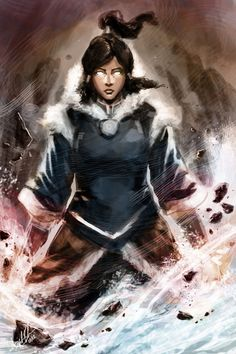 Avatar Korra by DiegooCunha.deviantart.com on @deviantART. The fan art is almost always better than the original anime (not that we all don't love the anime!)