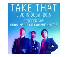 Tickets for Take That Concert in Dubai