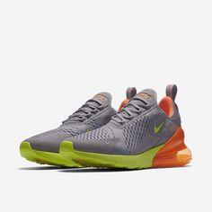 online retailer c3ada 0284b New Mens Size 8 Nike Air Max 270 Casual Sneakers Atmosphere Grey Volt  AH8050012  fashion