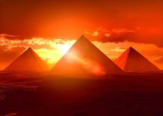 Sunrise over The Pyramids, Cairo, Egypt Oh The Places You'll Go, Places To Travel, Places To Visit, We Are The World, Wonders Of The World, Great Pyramid Of Giza, Pyramids Of Giza, Giza Egypt, Ancient Egypt