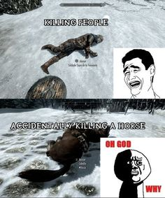 Skyrim problems.