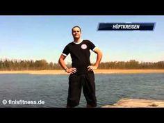 10x10 Zirkel Übungen mit dem eigenen Körpergewicht - YouTube