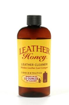 Leather Cleaner by Leather Honey: The Best Leather Cleaner for Vinyl and Leather Apparel, Furniture, Auto Interior, Shoes and Accessories. Concentrated Formula Makes 32 Ounces When Diluted! - http://www.caraccessoriesonlinemarket.com/leather-cleaner-by-leather-honey-the-best-leather-cleaner-for-vinyl-and-leather-apparel-furniture-auto-interior-shoes-and-accessories-concentrated-formula-makes-32-ounces-when-diluted/  #Accessories, #Apparel, #AUTO, #Best, #Cleaner, #Concentra